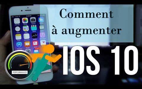 Sommet 10 méthodes gratuites pour accélérer lent iOS 10, iOS 10.1 sur iPhone iPad