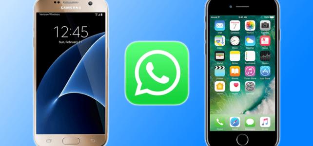 Comment transférer des WhatsApp Messages de Android à iPhone 6