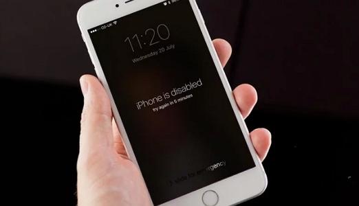 comment d bloquer iphone est d sactiv se connecter itunes. Black Bedroom Furniture Sets. Home Design Ideas