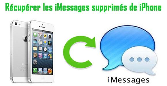 Comment récupérer des iMessages supprimés ou perdus à partir de iPhone