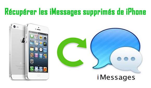 Récupérer les iMessages supprimés de iPhone