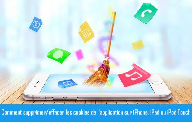 Clair App Cookies sur iPhone