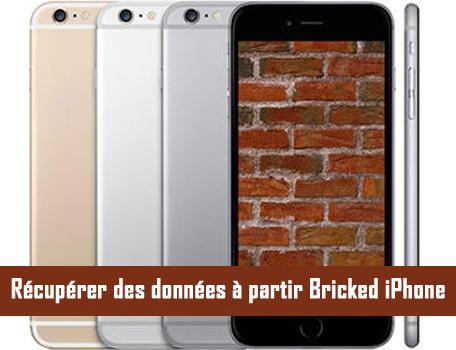Comment faire pour récupérer des données à partir Bricked iPhone