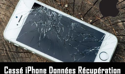 Cassé iPhone Données Récupération: Récupérer des données à partir d'un iPhone cassé