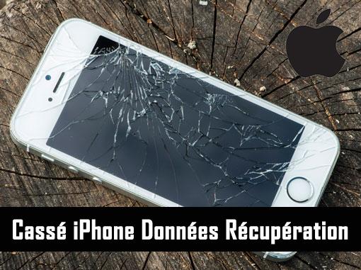 Cassé iPhone Données Récupération