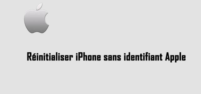 Comment réinitialiser iPhone sans identifiant Apple et restaurer les données perdues